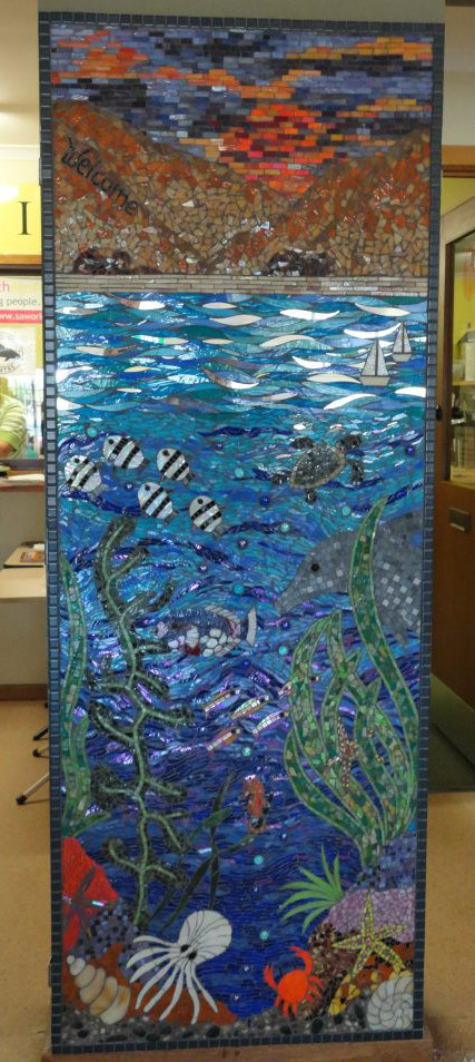 Aldinga Community Centre Above and Below Mosaic Mural