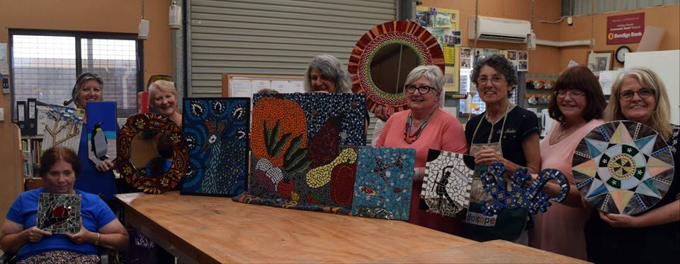 Students work at Aldinga Community Centre