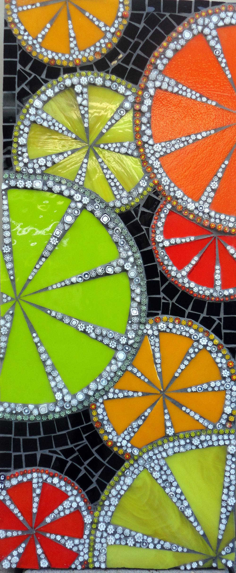 Citrus (Stained Glass, Millefiori)