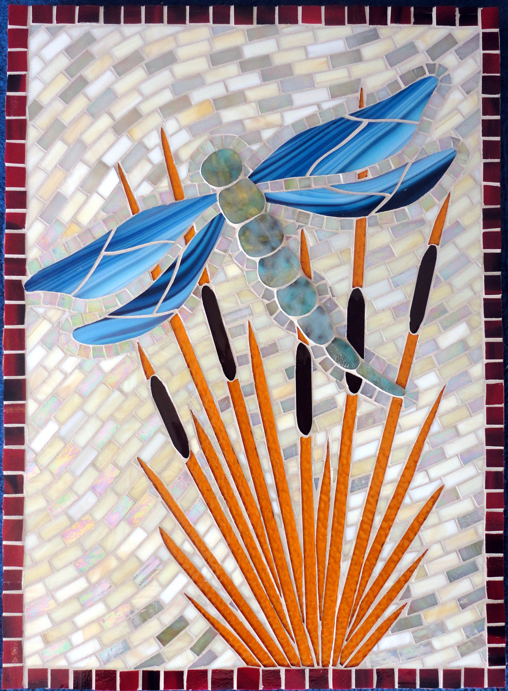 Dragonfly (Commission) (Stained Glass)