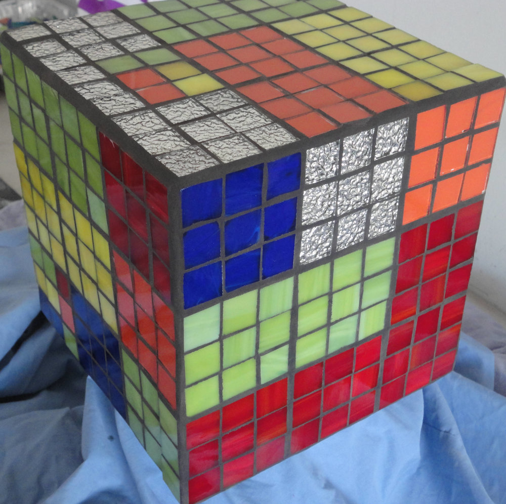The Cube (Stained Glass, Mirror Glass)