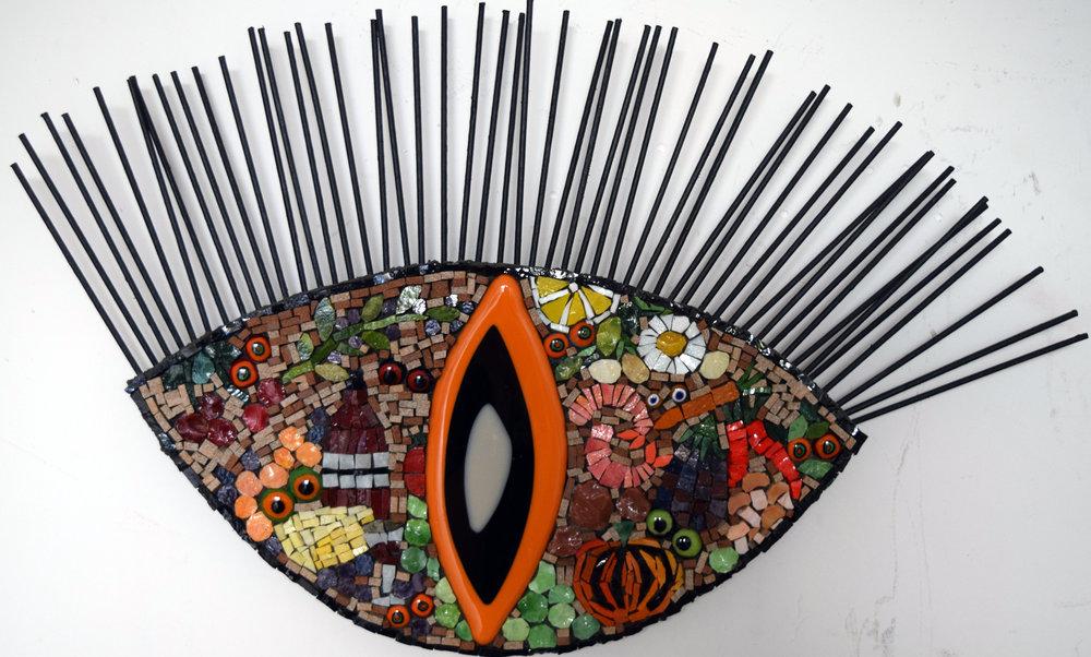 Visual Feast (Smalti, Glass Fusions)