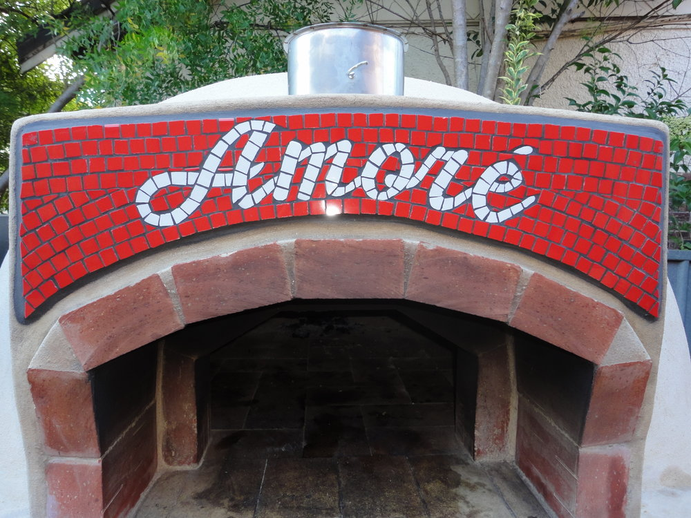 Amore Wood Ovens (Commission/Installation) (Ceramic)