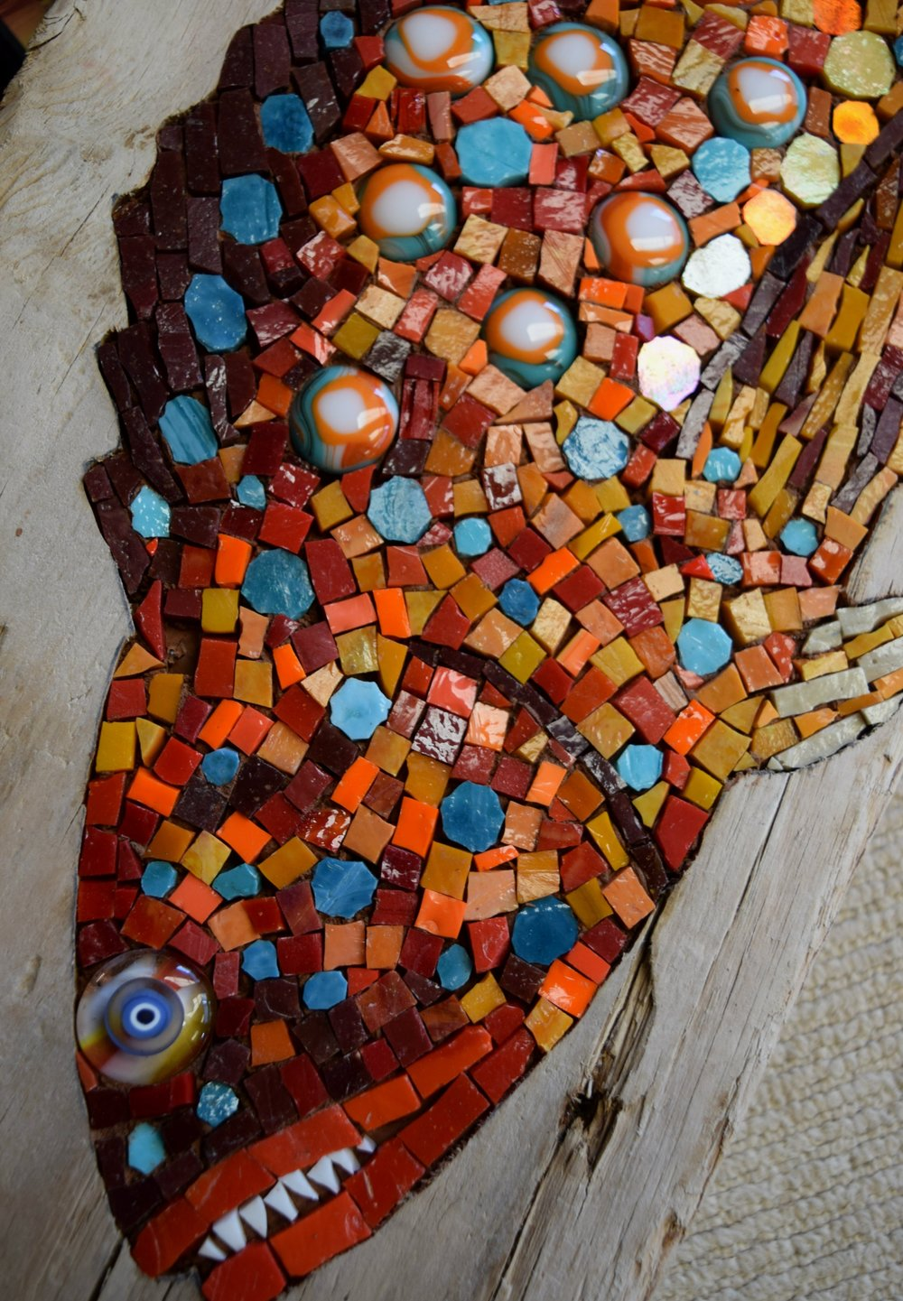 Harlequin Fish (detail)