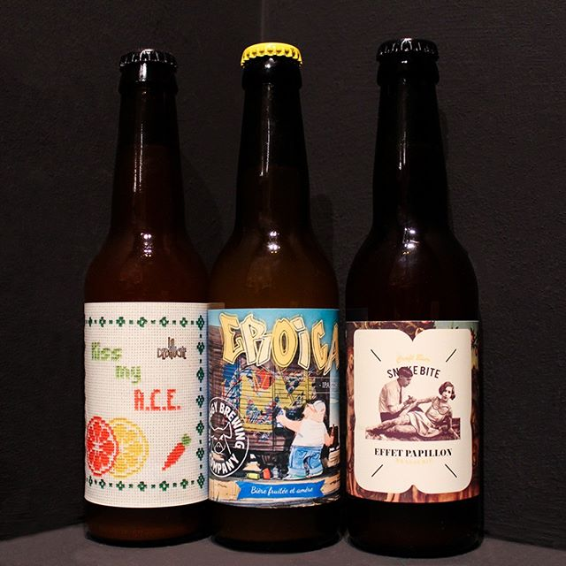 Last week we received 3 great new beers from 3 great FRENCH breweries!  @brasserie_la_debauche, Kiss my ACE: Lemon, Orange and Carrot Pale Really refreshing, slightly tart and complex - great summer beer!  @thepiggybrew, Eroica: NEIPA  Seriously ridiculously good balance, a hit for you all #juicebomb fans  @brasserieffetpapillon , Snakebite: MixFerm Apple Juice & Blackcurrant Don't be fooled, this is great, balanced and fruity - a snakebite you can actually drink  Look at these great ideas! We are grateful to @hoppinrabbitbeer for getting us these and are looking forward to try more! Stay tuned for events with some French breweries next month!! If that does not pique your interest, what will? . . . #craftbeer #fulham #wandsworth #beer #frenchcraftbeer #instabeer #beerstagram #beertography #beertographer #hazyipa #toprated #frenchbeer #frenchbeergeek #ace #craftbeerlover #craftbeerstagram #beerinnovation #callowruscoe #importedbeer #europeanbeer #rarebeer #fulhamlife