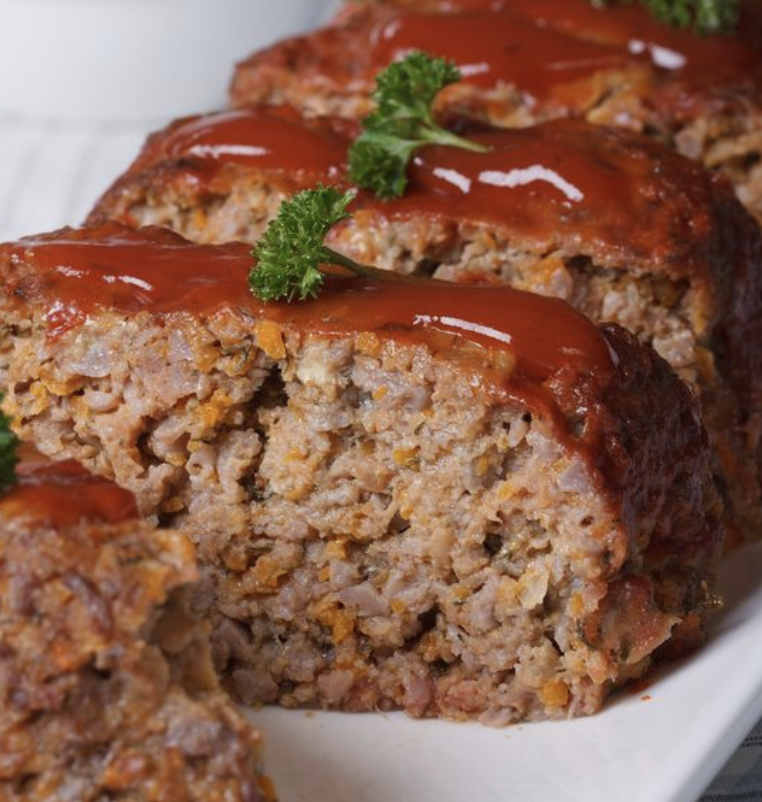 Mums meat loaf - easy to grab and even better for leftovers