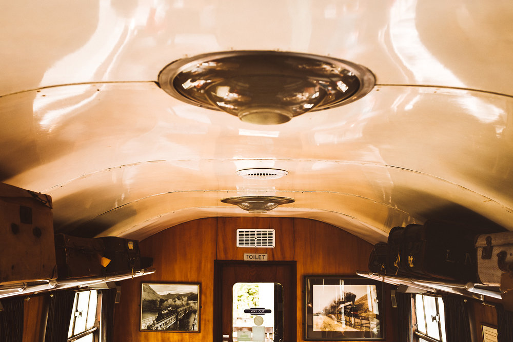 Glenfinnan Dining Car created in actual railroad cars