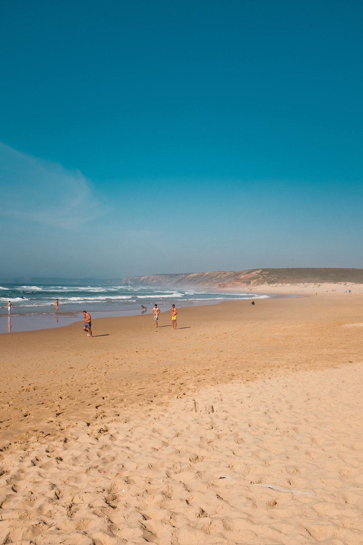 Praia Da Bordeira Algarve Portugal