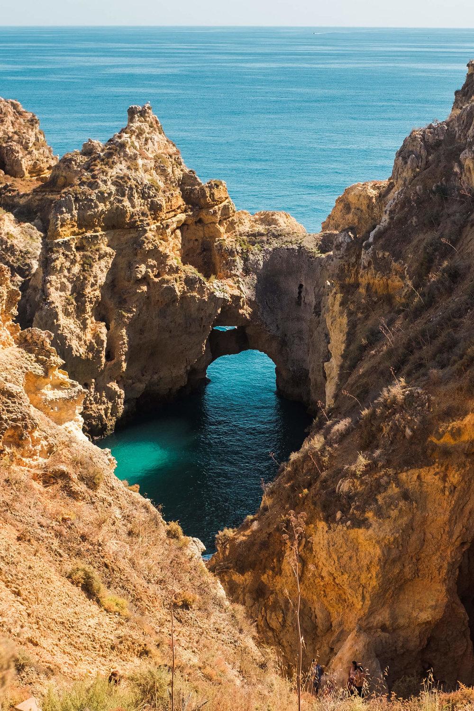 Ponta da Piedade Lagos Algarve Portugal
