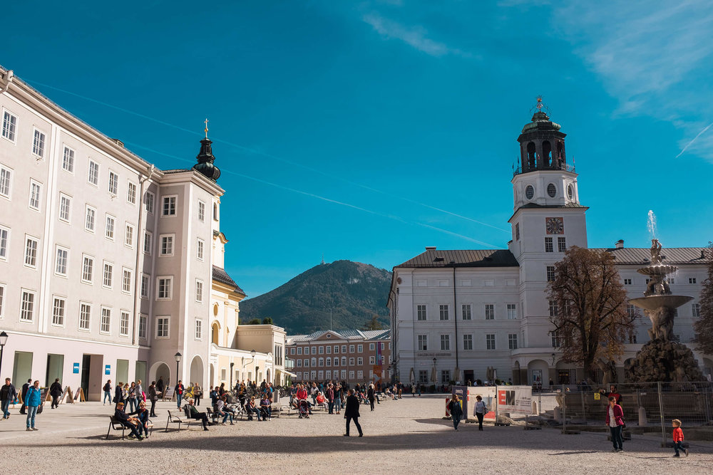 Kapitelplatz in Salzburg