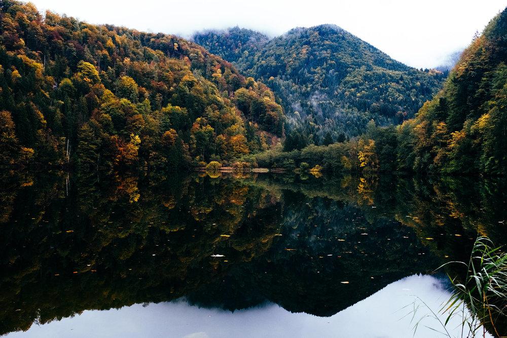 Austria Road Trip Lake