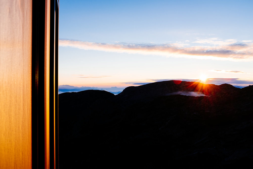 Austria mountains sunrise