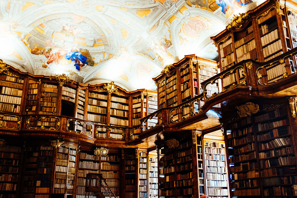 St. Florian Monastery's sumptuous Library