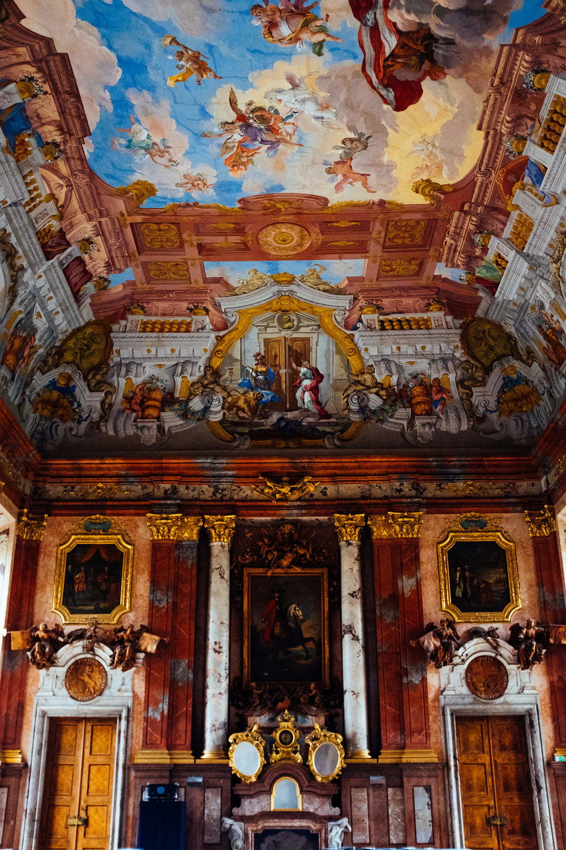 St. Florian Monastery ballroom