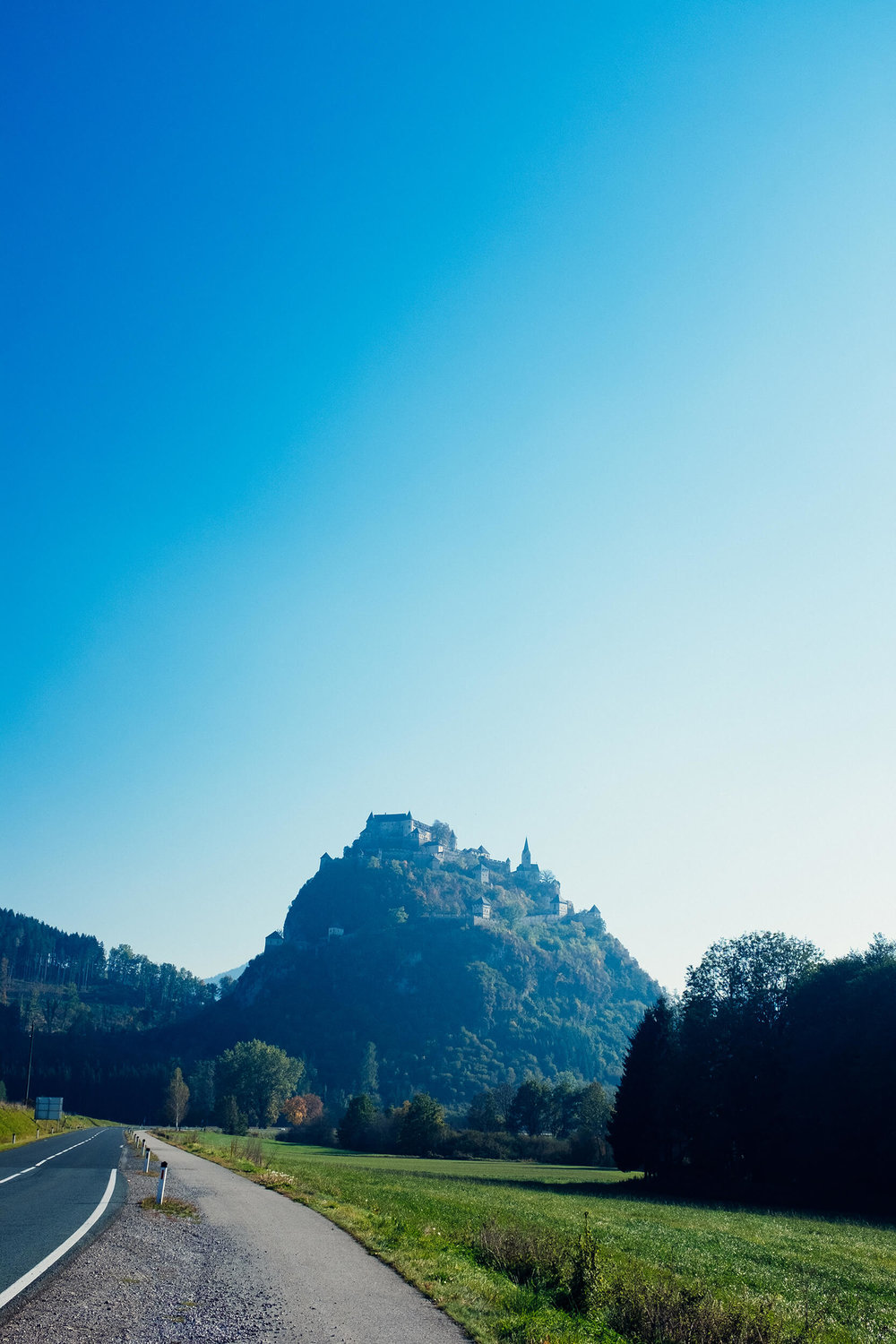 The Hochosterwitz castle is said to have inspired Disney's Sleeping Beauty castle