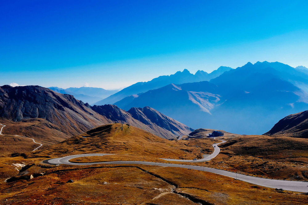 The Grossglockner is a mythical road across the Austrian Alps