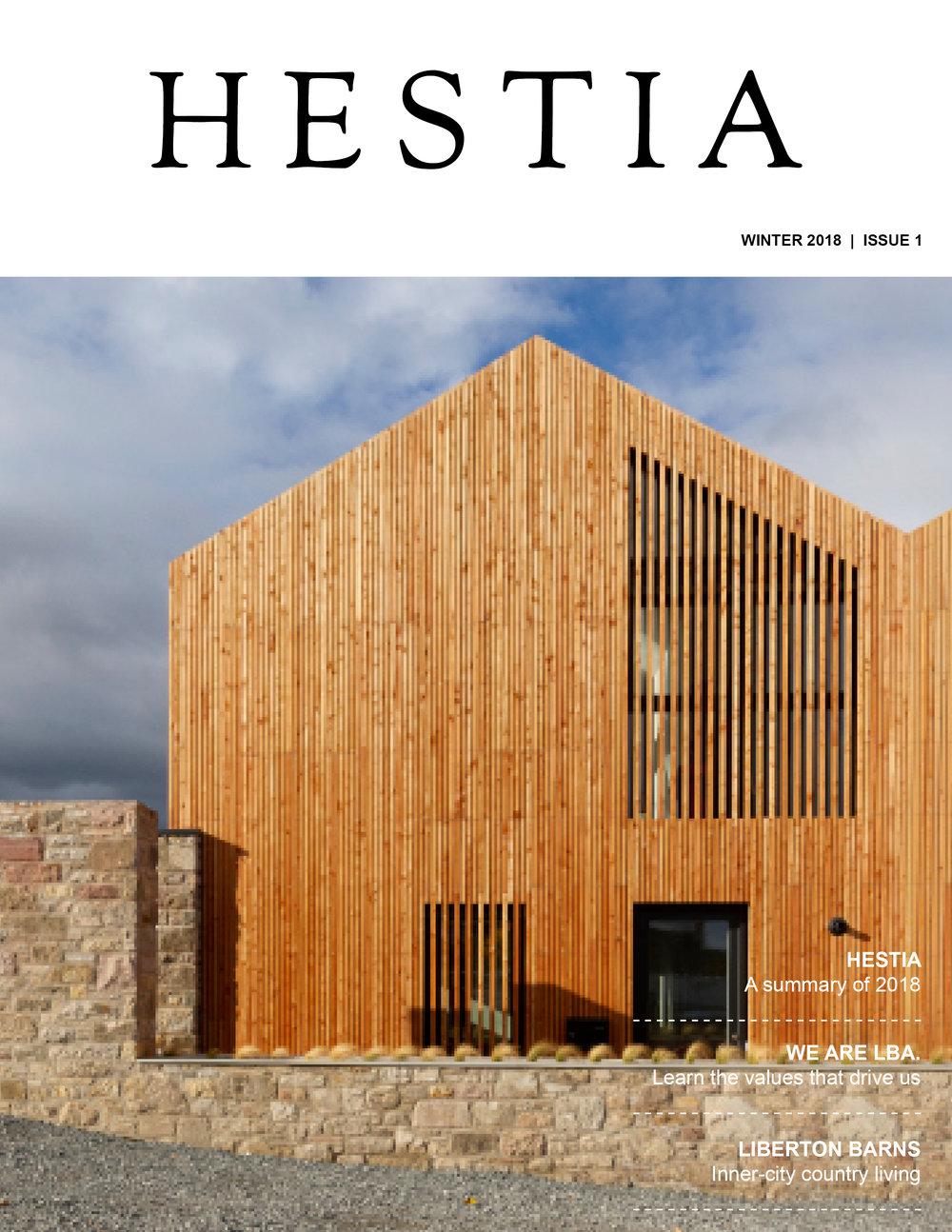 Hestia - Our LBA magazine.