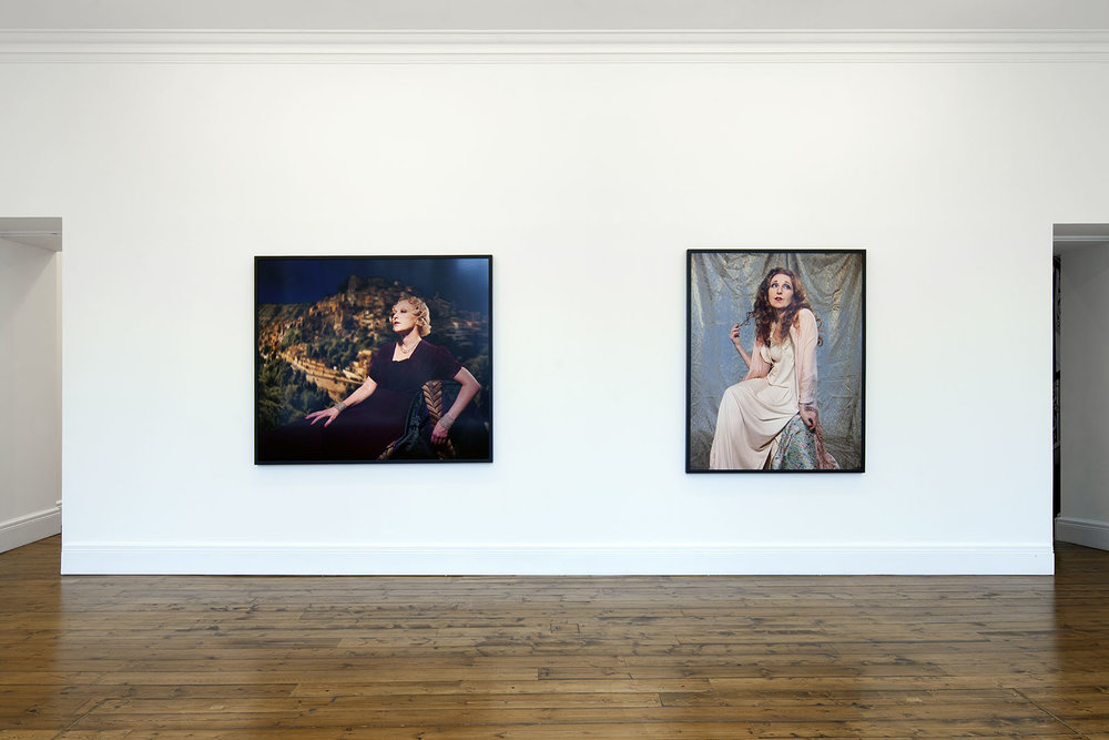 Installation view, Cindy Sherman, Sprüth Magers, London, June 05 - September 01, 2018. Courtesy Sprüth Magers. Photography by Voytek Ketz