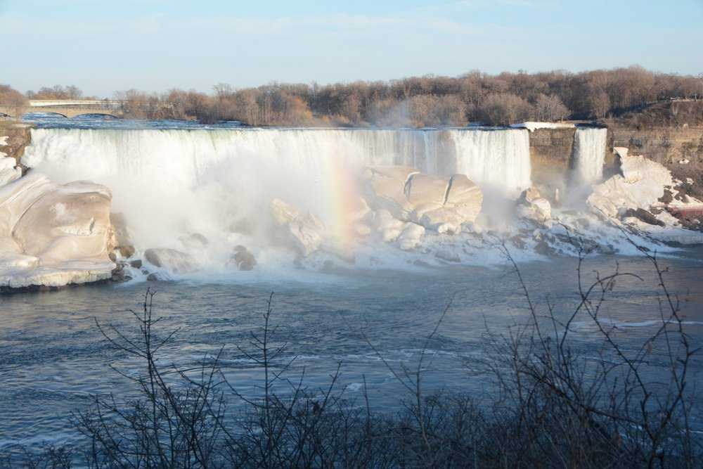 <h3><strong>See the Mighty Niagara Falls</strong></h3>