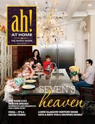 Featured in At home on the north shore magazine