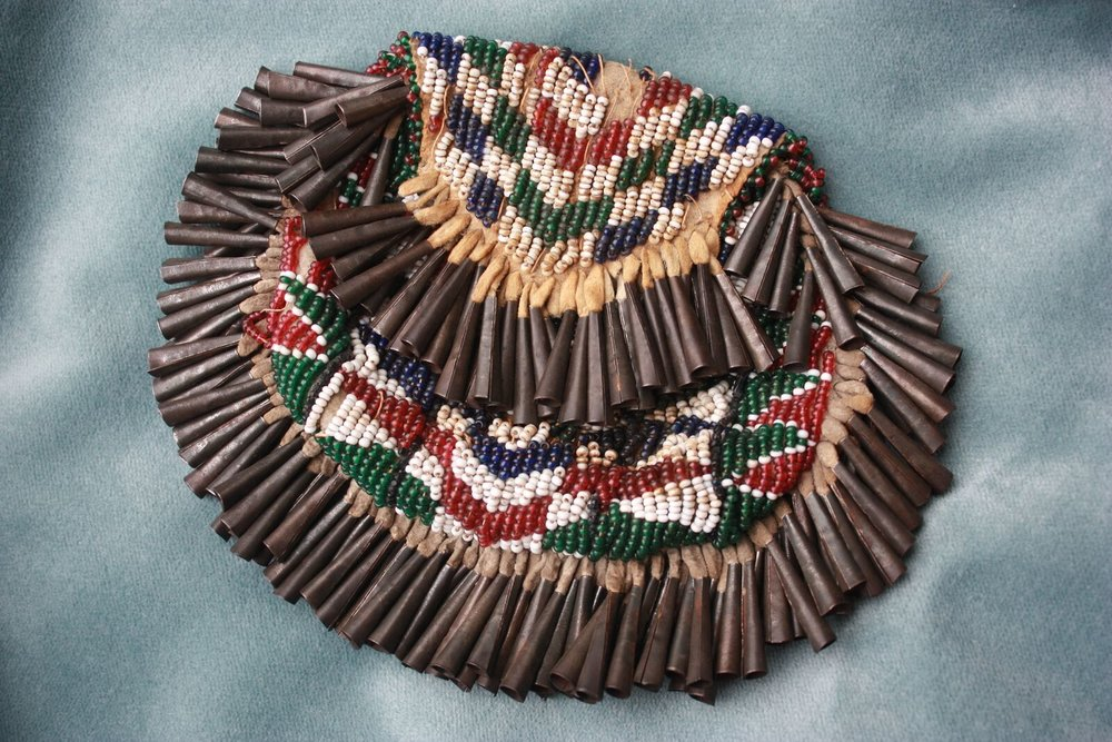 Indian pouch collected by Lowell.
