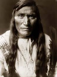 Portrait of Atsina Chief (Gros Ventre)
