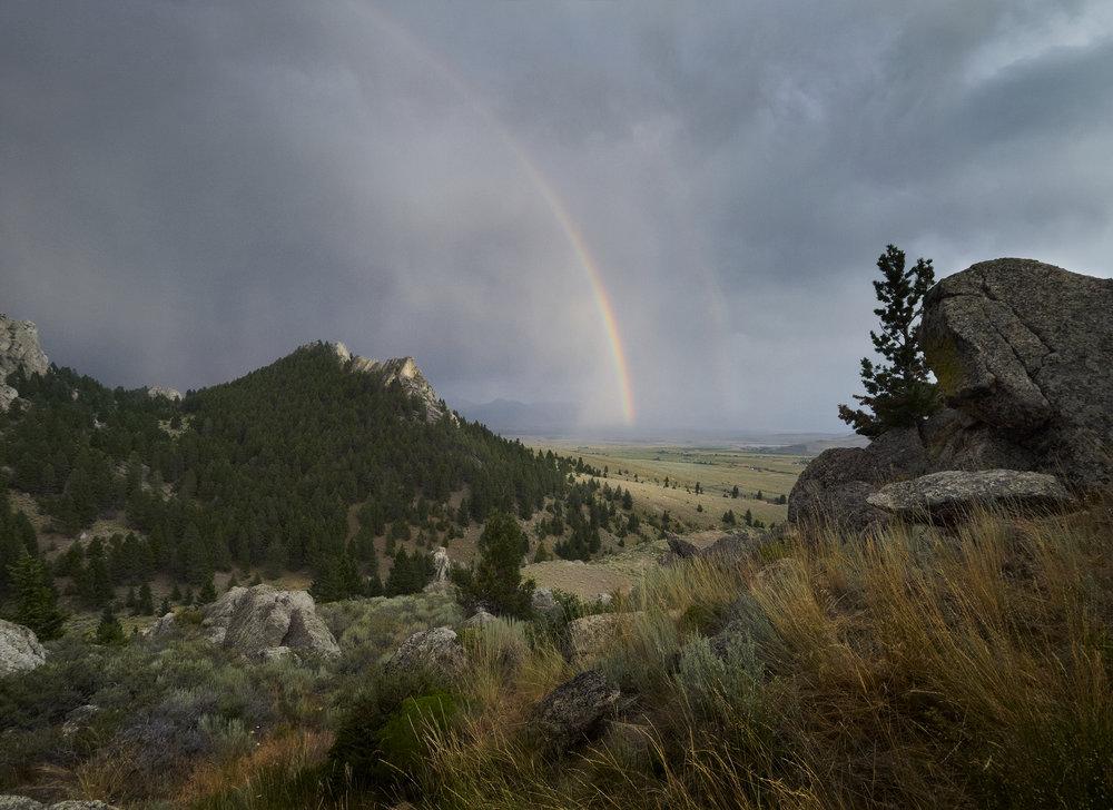 Near Ennis, Montana