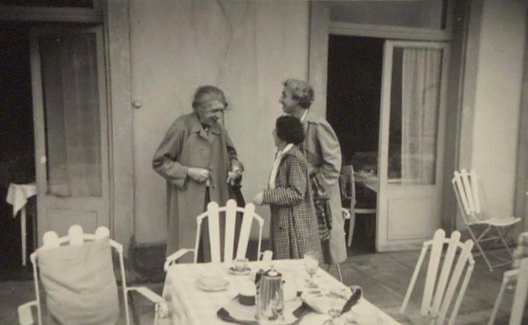 Avec Hélène Stricker & Jeanne Haskil