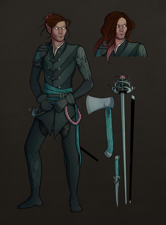 Lysander :: D&D Character Design (2017)