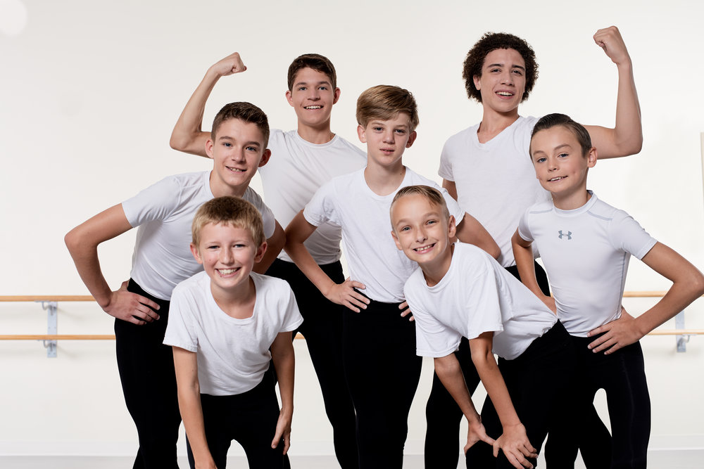 Ballet for Boys I - Ages: 7+ years old