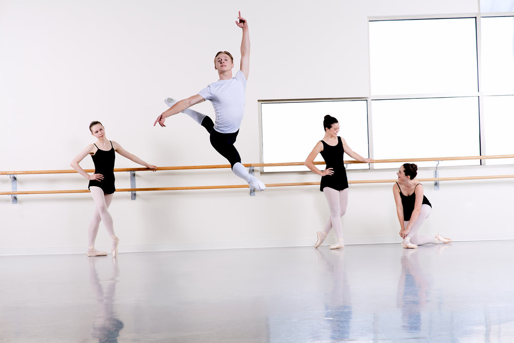 Men's Intermediate Ballet - Ages: 11+ years old or Completed Ballet for Boys II