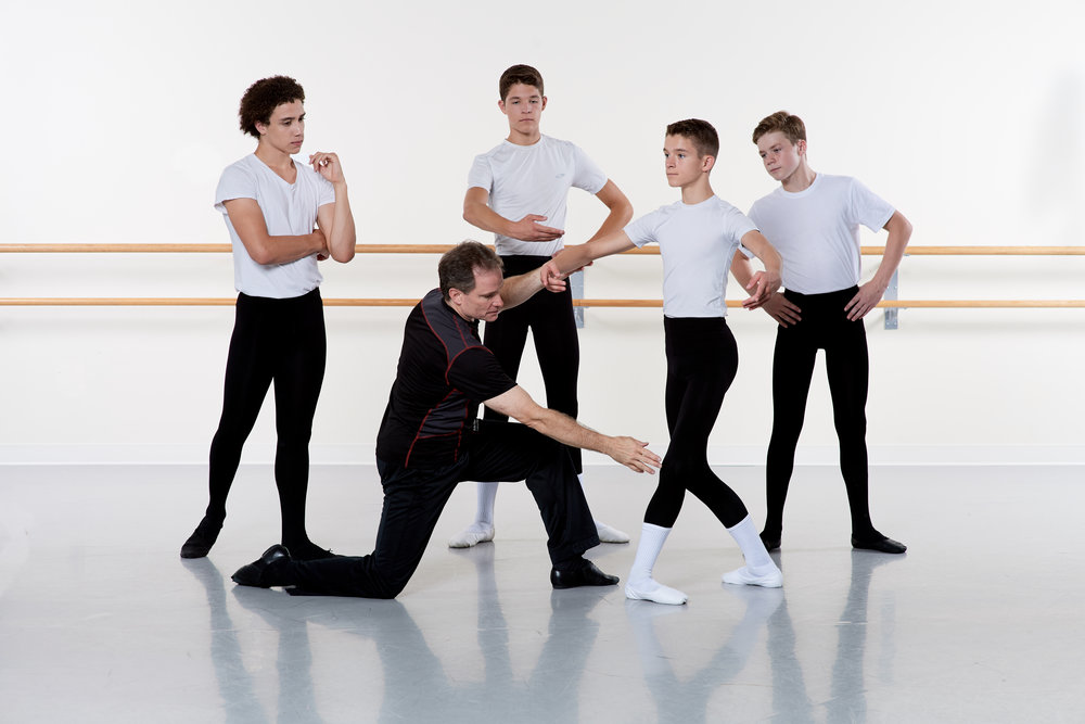 Boy's/Men's Ballet Intensives and Programs - Ages 10 +
