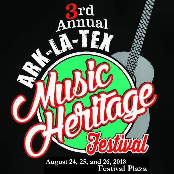 Welcome the Shane Pons Band to the 3rd Annual Ark-La-Tex Music Heritage Festival! - August 24th, 25th, and 26th, 2018!