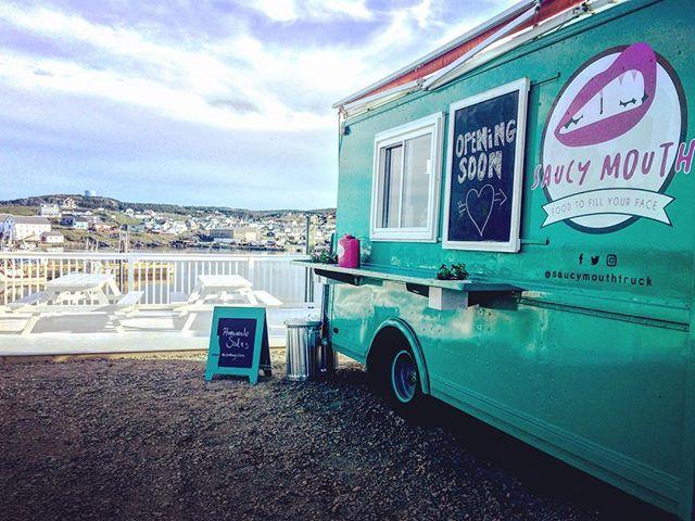 Living our food truck fantasy! #foodtruck #local #bonavista #newfoundland #openingsoon #est2018