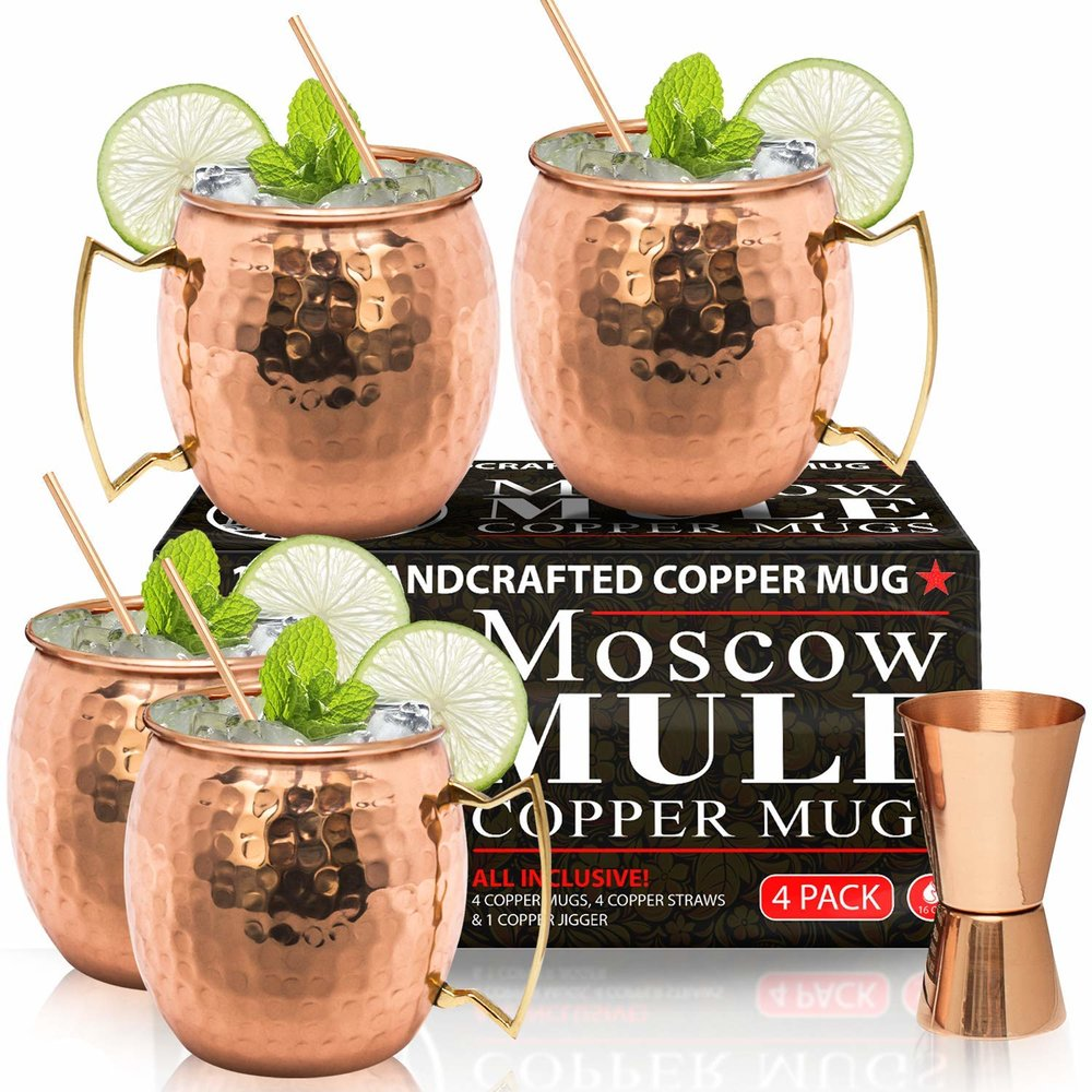Moscow Mule Glasses