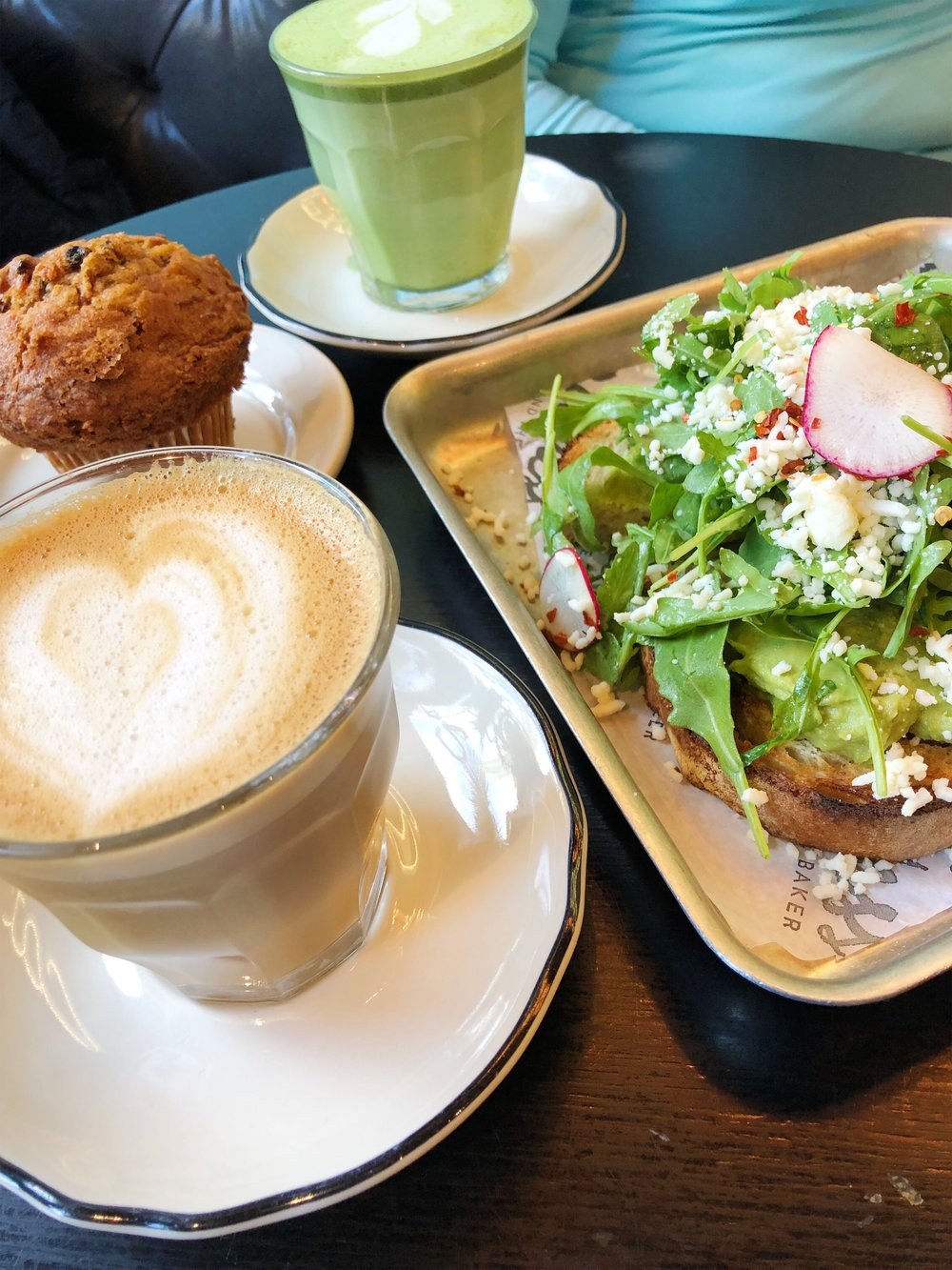 Breakfast at    Goddess and the Baker