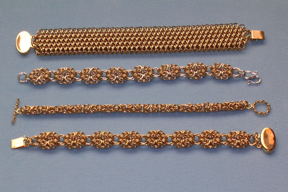 Assorted Bracelet Weaves