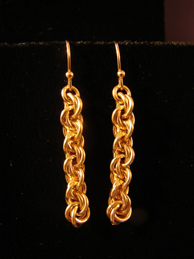 Sparkle Weave Earrings