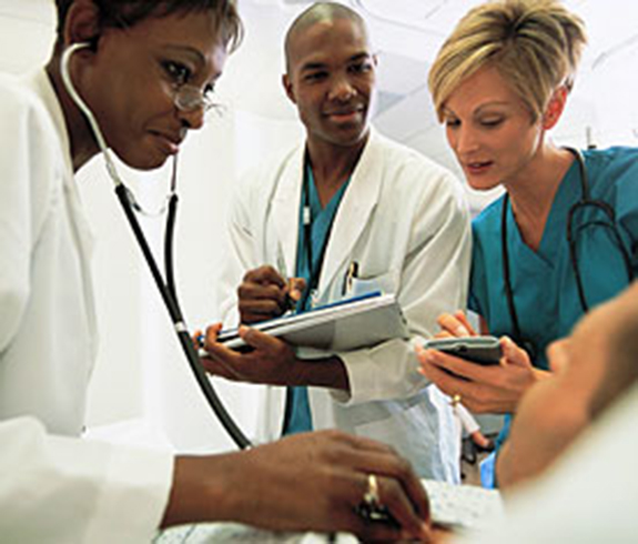 Three doctors