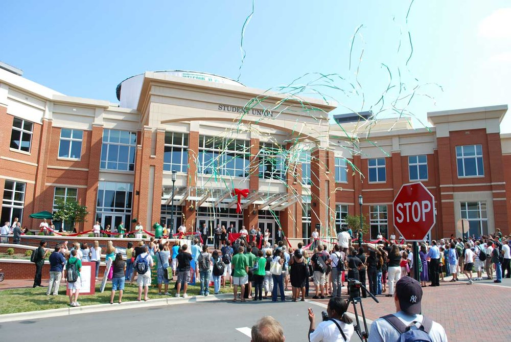 UNC Charlotte Grand Opening