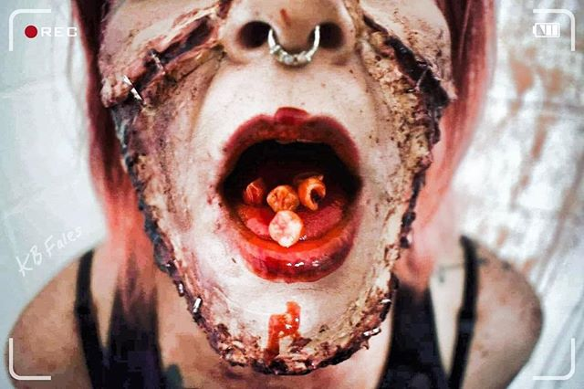 """Last day to experience Torment Factory is THIS SATURDAY. Come see what our past 6,000 victims meant when they said """"Torment Factory is it's own breed"""". Wouldn't want to pass up the chance to experience Torment Factory.  #tormentfactory #makeup #tickets #halloween #stitches #teeth #fright"""