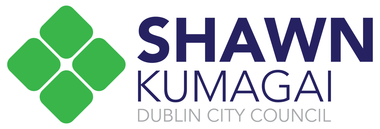 Shawn Kumagai for Dublin City Council