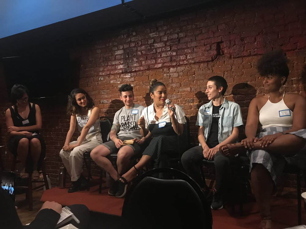 A recap of vegan panel: Network & Chill -