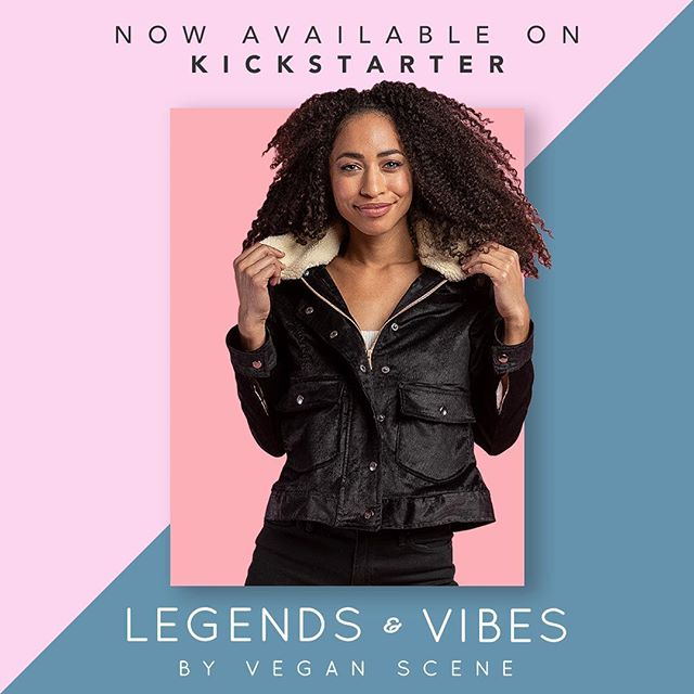 Legends & Vibes by @VeganScene is now LIVE on Kickstarter for TEN days only.  We've also added exclusive early bird rewards for the first 48 hours.  Here's what happened: On the last day of our campaign as we were about to reach our 55K goal, our campaign was suspended because we made pledges on behalf of other backers. We didn't think it would be a problem at the time because we had raised the money, but that was a no-no and we had to start over. Everything has been resolved with Kickstarter and we're back on track!  Thank you to all of our supporters who have been so wonderful throughout this whole process.