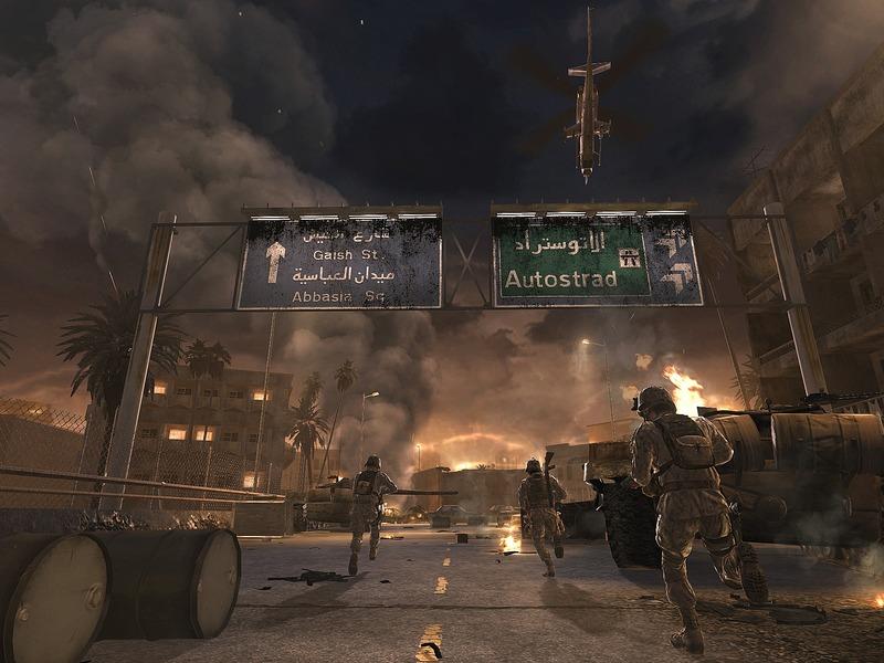 Random war scene A