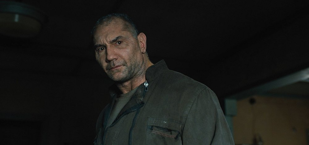 Dave Bautista as Sapper Morton, the only Asian in  Blade Runner 2049.  Go ahead, ask me how long he's in the movie.