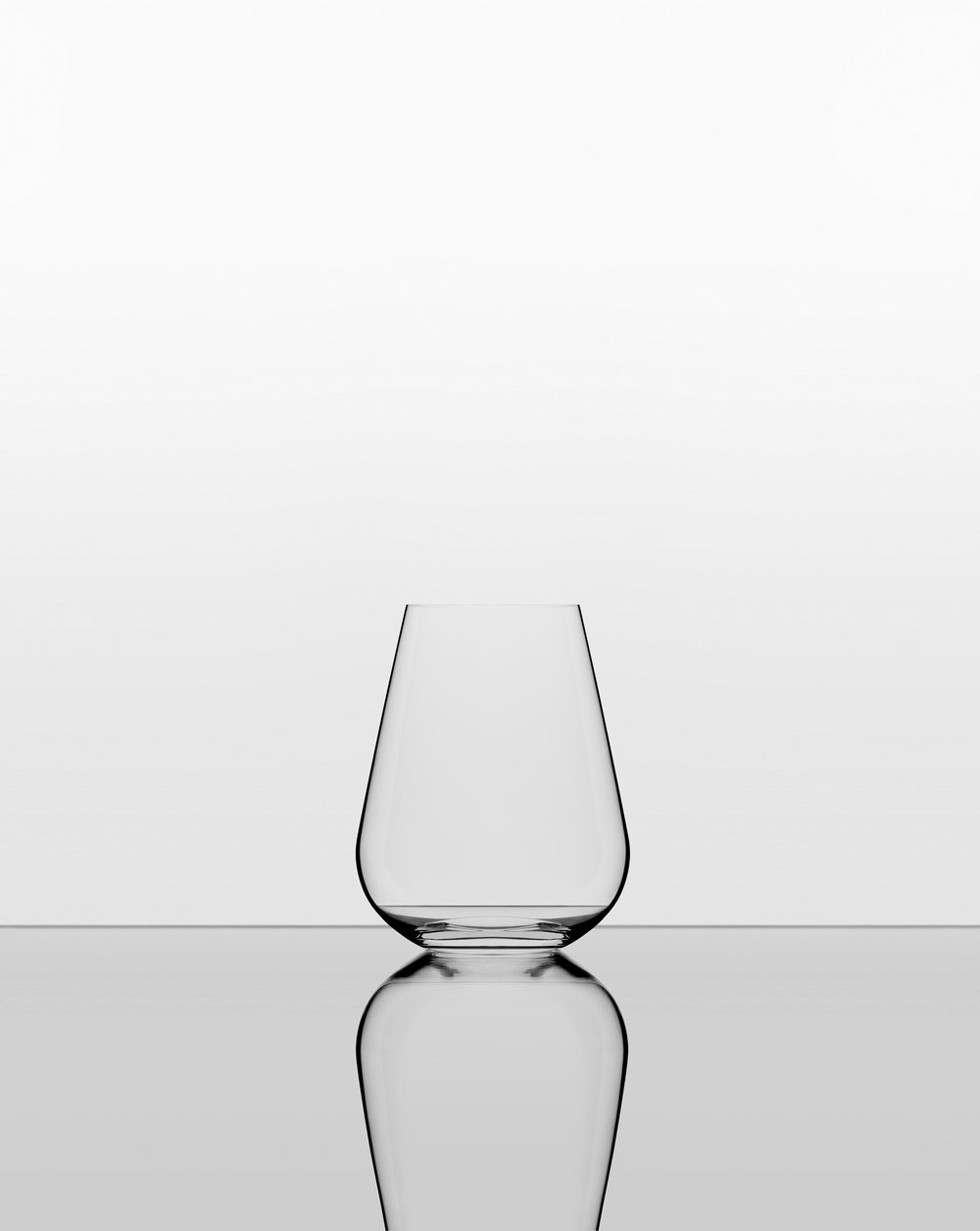 The Water Glass. - It is always wise to drink water with your wine, and this stemless glass fits perfectly en suite with the Wine Glass to create a beautiful table setting.This tumbler is exactly the same shape as the Wine Glass, so if you do choose to use this stemless version as your wine glass you will still have the benefits of the perfect generous tulip shape.