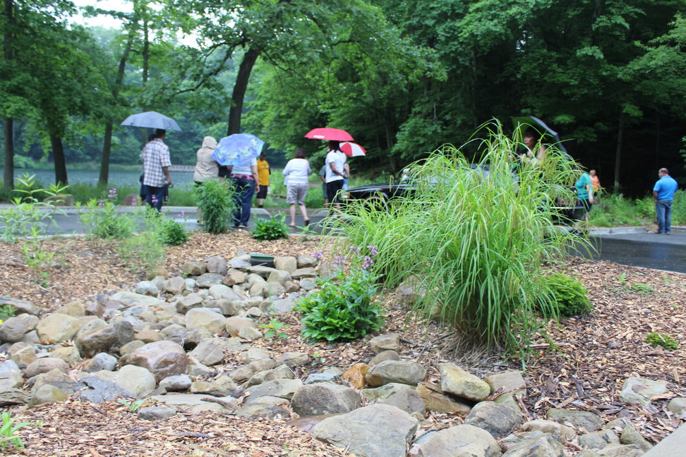 Rain-ready landscaping - Greenprint Partners makes it easy for Philadelphia landowners to improve their properties with grant-funded green infrastructure.
