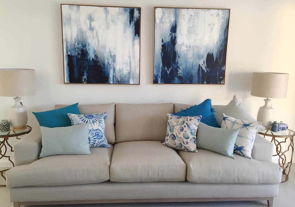 Coast Building Display Home Lounge