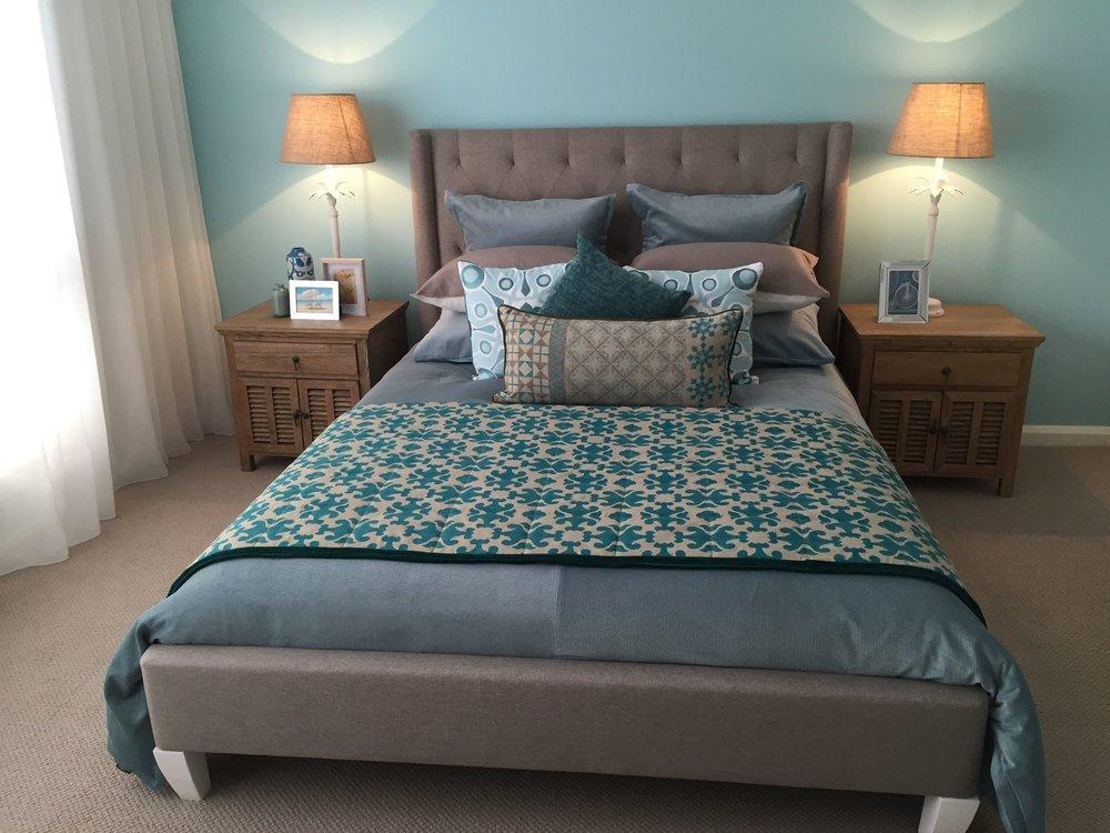 Coast Building Display Home - Master Bedroom